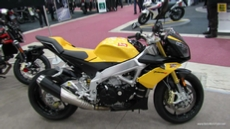 2012 Aprilia Tuono V4R at 2013 Quebec Motorcycle Show