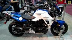 2013 BMW F800R at 2013 Quebec Motorcycle Show