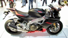 2014 Aprilia RSV4 Factory APRC ABS at 2013 EICMA Milan Motorcycle Exhibition