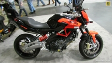 2014 Aprilia Shiver 750 at 2013 New York Motorcycle Show