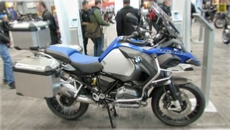 2014 BMW R1200GS Adventure at 2013 New York Motorcycle Show