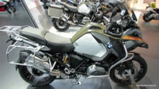 2014 BMW R1200GS Adventure at 2013 EICMA Milan Motorcycle Exhibition