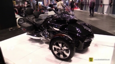 2015 Can-am Spyder F3 S Touring Escape at 2014 New York Motorcycle Show