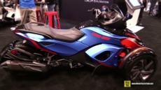 2015 Can-am Spyder RS S at 2014 New York Motorcycle Show