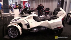 2015 Can-am Spyder RT Limited at 2014 New York Motorcycle Show