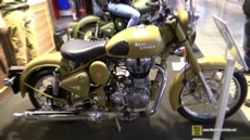 2015 Royal Enfield Classic 500 Desert Storm at 2014 EICMA Milan Motorcycle Exhibition