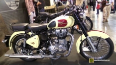 2015 Royal Enfield Classic 500 at 2014 EICMA Milan Motorcycle Exhibition