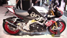 2016 Aprilia Tuono V4 1100 Factory at 2015 EICMA Milan Motorcycle Exhibition