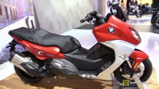 2016 BMW C650 Sport Scooter at 2015 EICMA Milan Motorcycle Exhibition