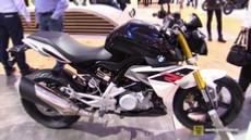 2016 BMW G310R at 2015 EICMA Milan Motorcycle Exhibition