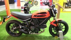 2016 Ducati Scrambler Sixty2 at 2015 EICMA Milan Motorcycle Exhibition