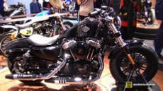 2016 Harley Davidson Forty Eight at 2015 EICMA Milan Motorcycle Exhibition
