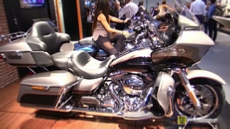 2016 Harley Davidson Road Glide Ultra at 2015 EICMA Milan Motorcycle Exhibition