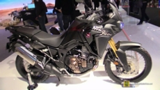 2016 Honda Africa Twin CRF1000L at 2015 EICMA Milan Motorcycle Exhibition