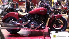 2016 Indian Scout Sixty at 2015 EICMA Milan Motorcycle Exhibition