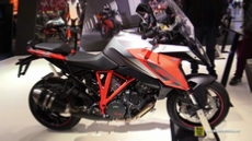 2016 KTM 1290 Super Duke GT at 2015 EICMA Milan Motorcycle Exhibition