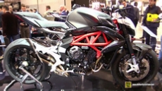 2016 MV Agusta Brutale 800 at 2015 EICMA Milan Motorcycle Exhibition