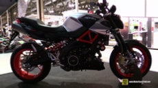 2017 Aprilia Shiver 900 at 2016 EICMA Milan Motorcycle Exhibition