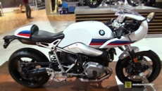 2017 BMW R Nine T Racer at 2016 EICMA Milan Motorcycle Exhibition