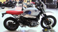 2017 BMW R Nine T Urban GS at 2016 EICMA Milan Motorcycle Exhibition