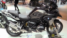 2017 BMW R1200 GS at 2016 EICMA Milan Motorcycle Exhibition