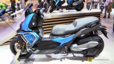 2018 BMW C400X Scooter at 2017 EICMA Milan Motorcycle Exhibition