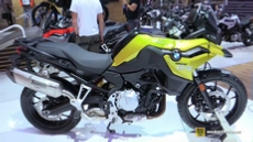 2018 BMW F750 GS at 2017 EICMA Milan Motorcycle Exhibition
