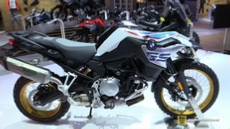 2018 BMW F850 GS at 2017 EICMA Milan Motorcycle Exhibition