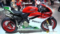 2018 Ducati Panigale 1299 R Final Edition at 2017 EICMA Milan Motorcycle Exhibition