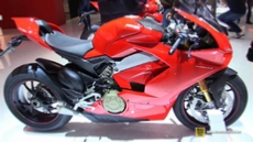 2018 Ducati Panigale V4 S at 2017 EICMA Milan Motorcycle Exhibition