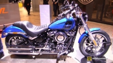 2018 Harley Davidson Low Rider at 2017 EICMA Milan Motorcycle Exhibition