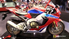 2018 Honda CBR1000RR Fireblade SP2 at 2017 EICMA Milan Motorcycle Exhibition