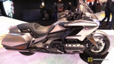2018 Honda Goldwing at 2017 EICMA Milan Motorcycle Exhibition