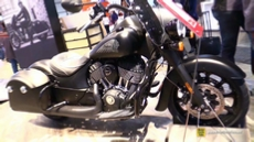 2018 Indian Springfield Dark Horse at 2017 EICMA Milan Motorcycle Exhibition