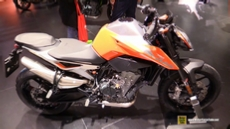 2018 KTM 790 Duke at 2017 EICMA Milan Motorcycle Exhibition