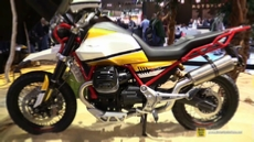 2018 Moto Guzzi V85 at 2017 EICMA Milan Motorcycle Exhibition
