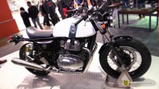 2018 Royal Enfield Continental GT 650 Twin at 2017 EICMA Milan Motorcycle Exhibition