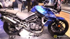 2018 Triumph Tiger 800 XRX at 2017 EICMA Milan Motorcycle Exhibition